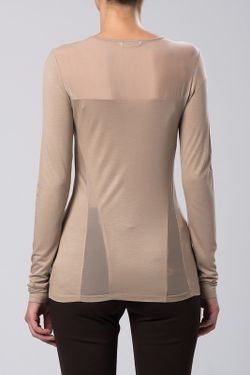 Блузка Sassofono                                                                                                              бежевый цвет