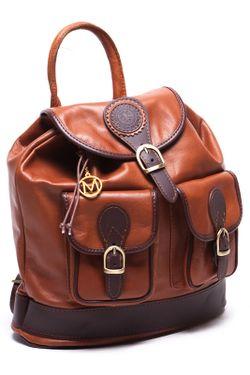Рюкзак MANGOTTI BAGS                                                                                                              коричневый цвет