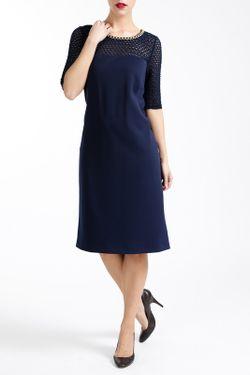 Платье Paola Collection                                                                                                              синий цвет