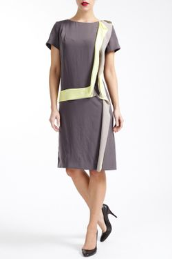 Платье Paola Collection                                                                                                              серый цвет