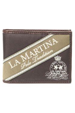 Кошелек La martina                                                                                                              коричневый цвет