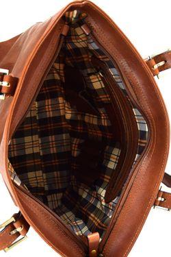 Сумка SANTO CROCE                                                                                                              коричневый цвет