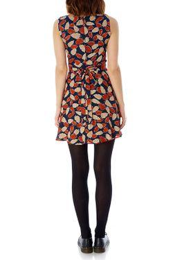 Платье Iska                                                                                                              многоцветный цвет