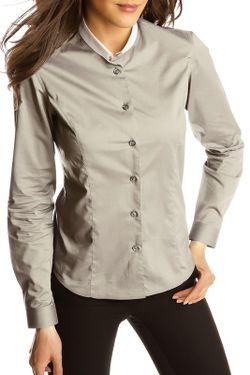 Рубашка Gazoil                                                                                                              серый цвет