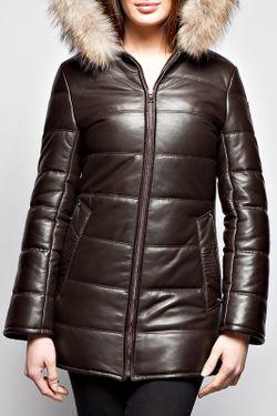 Пальто Giorgio                                                                                                              коричневый цвет