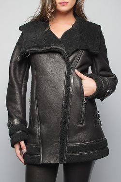 Дубленка Giorgio                                                                                                              черный цвет