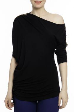 Блузка Milanesse                                                                                                              черный цвет