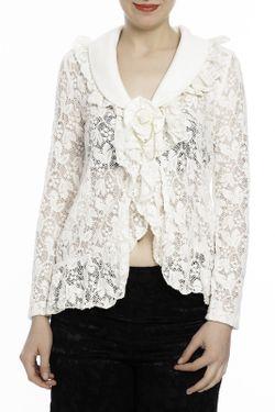 Блузка Milanesse                                                                                                              белый цвет