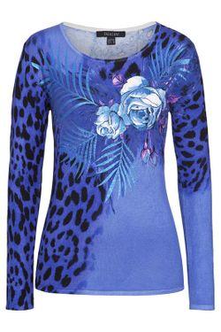 Пуловер IMAGINI                                                                                                              синий цвет