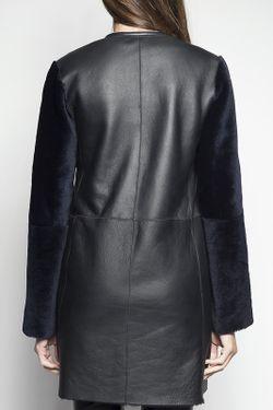 Пальто John & Yoko                                                                                                              синий цвет