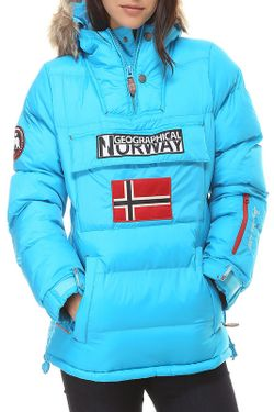 Куртка Geographical norway                                                                                                              голубой цвет