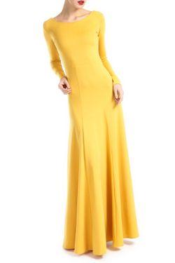 Платье MBYMAIOCCI                                                                                                              желтый цвет