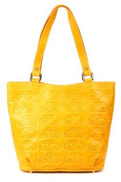 Сумка Braccialini                                                                                                              желтый цвет