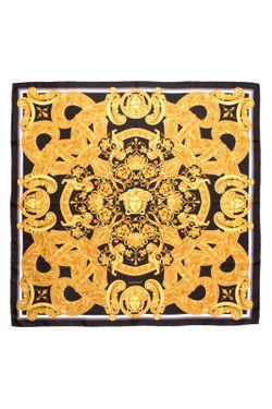 Шарф Versace                                                                                                              желтый цвет