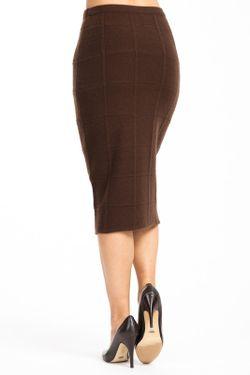 Юбка Martucci Roma                                                                                                              коричневый цвет