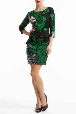 Платье Didier Parakian                                                                                                              зелёный цвет
