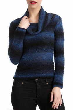 Пуловер Didier Parakian                                                                                                              синий цвет