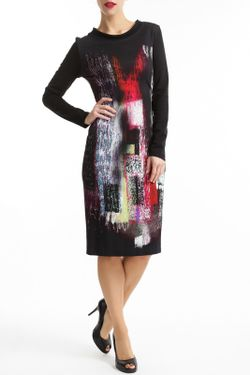 Платье Didier Parakian                                                                                                              многоцветный цвет