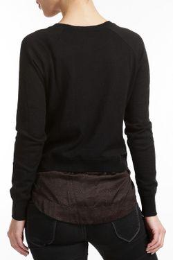 Джемпер Carlopik                                                                                                              черный цвет