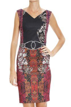 Платье Class Roberto Cavalli                                                                                                              многоцветный цвет