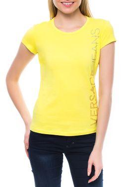 Футболка Versace Jeans Couture                                                                                                              желтый цвет