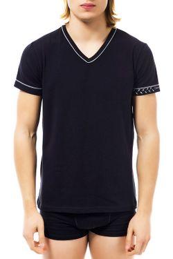 Футболка Cesare Paciotti Beachwear                                                                                                              черный цвет