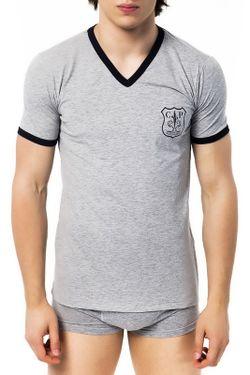 Футболка Cesare Paciotti Beachwear                                                                                                              серый цвет
