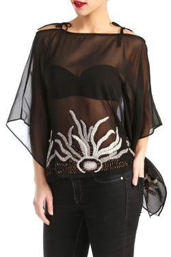 Блузка D&P                                                                                                              чёрный цвет