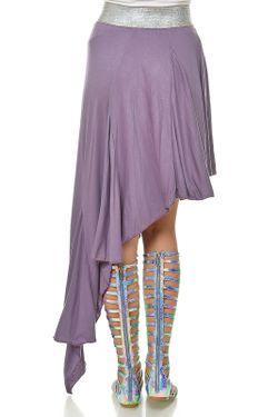 Юбка Ki6 collection                                                                                                              фиолетовый цвет