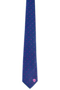 Галстук Versace                                                                                                              фиолетовый цвет
