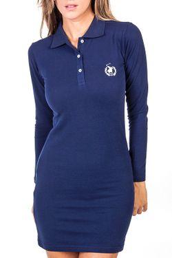 Платье POLO CLUB С.H.A.                                                                                                              синий цвет