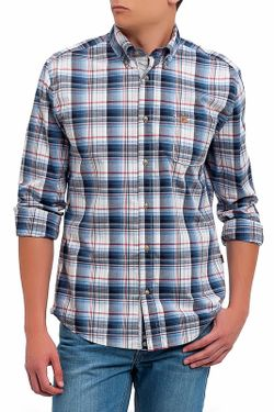 Рубашка Roberto Torretta                                                                                                              синий цвет