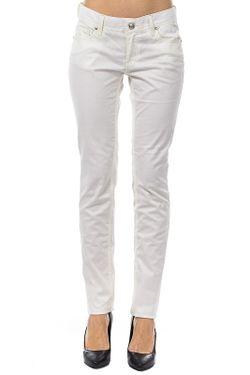 Брюки Versace Jeans Couture                                                                                                              белый цвет