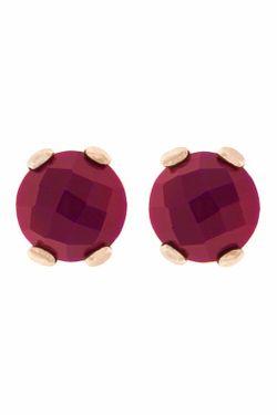 Серьги Bronzallure                                                                                                              фиолетовый цвет