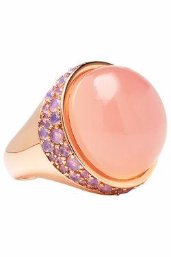 Кольцо Bronzallure                                                                                                              розовый цвет