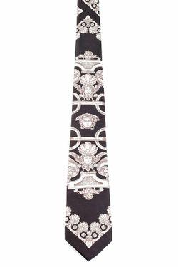 Галстук Versace                                                                                                              чёрный цвет