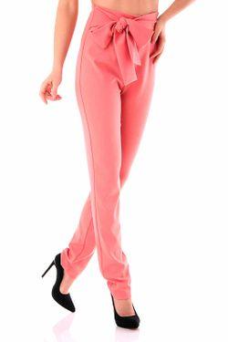 Брюки Cristina Gavioli                                                                                                              розовый цвет