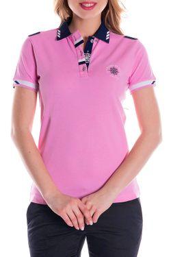Футболка-Поло Giorgio Di Mare                                                                                                              розовый цвет
