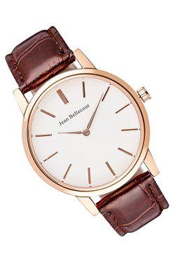 Часы JEAN BELLECOUR                                                                                                              коричневый цвет