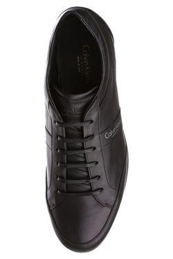 Кеды Calvin Klein                                                                                                              черный цвет