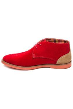 Ботинки ORTIZ REED                                                                                                              красный цвет
