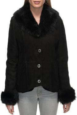 Дубленка Jean Guise                                                                                                              чёрный цвет