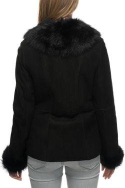 Дубленка Jean Guise                                                                                                              черный цвет