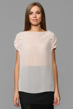 Блуза Nina Ricci                                                                                                              розовый цвет