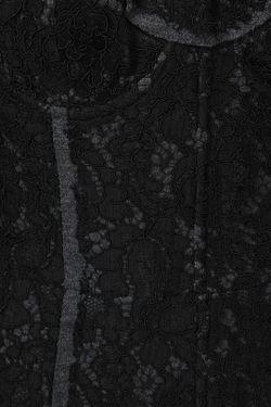 Топ Dolce & Gabbana                                                                                                              серый цвет