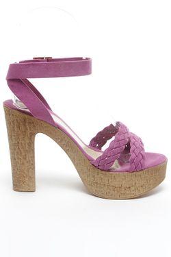 Босоножки Roccobarocco                                                                                                              розовый цвет