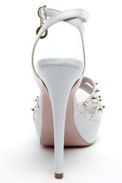 Босоножки Roccobarocco                                                                                                              белый цвет