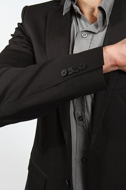 Пиджак Patrizia Pepe                                                                                                              черный цвет