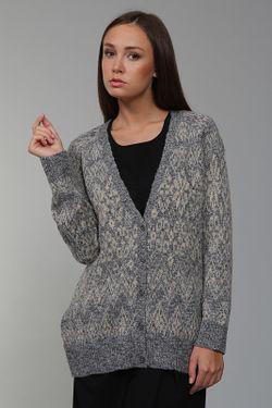Кардиган Вязаный DKNY                                                                                                              серый цвет