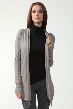 Кардиган Джерси Donna Karan                                                                                                              серый цвет